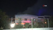 Adana'da tekstil fabrikasında yangın