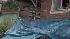 Bartın'da cenaze evinde balkon çöktü