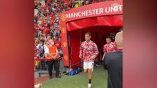 Ronaldo ManU formasıyla yeniden sahada
