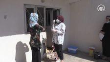 Aşı timleri Muş'un 'mavi' kategoriye geçmesi için mahalle ve köyleri dolaşıyor