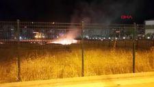 Diyarbakır'da havai fişek yangın çıkardı