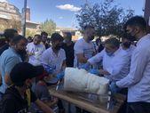 Erzurum'da cağ usulü dondurma