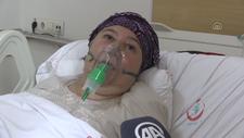 Gaziantep'te koronavirüse yakalanan kadın: Aşı olun,