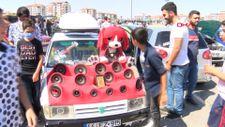 Malatya'da Modifiyeli Araç Festivali düzenlendi