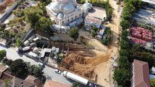 Sancaktepe'de İBB'nin metro inşaat alanında göçük yaşandı