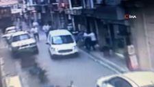 4. Levent'te esnaf aracı kaldırarak kadını kurtardı