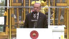 Cumhurbaşkanı Erdoğan Şişecam Polatlı Fabrikası açılışında
