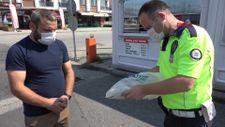 Düzce'de poşet içinde bulduğu 50 bin lirayı polise teslim etti