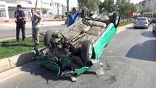 Kocaeli'de hatalı sollama kazaya sebep oldu: 4 yaralı