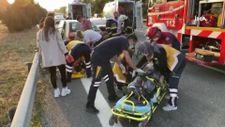Düzce'de direksiyon hakimiyetini kaybeden sürücü kaza yaptı: 4 yaralı