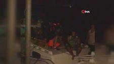 Manavgat'ta teknede İran uyruklu 13 düzensiz göçmen yakalandı
