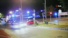 Samsun'da otomobil yaya geçidini kullanan adama çarptı