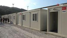 Selden etkilenen vatandaşlar konteyner evlere yerleştiriliyor