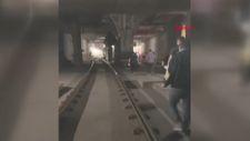 Topkapı-Mescidi Selam tramvay hattında arıza