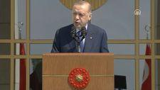 Erdoğan: Allah'ın izniyle büyük ve güçlü Türkiye silüeti ufukta gözükmüştür
