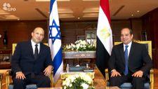 İsrail Başbakanı Bennett, Mısır Cumhurbaşkanı Sisi ile görüştü