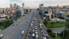 İstanbul'da trafik yoğunluğu yüzde 60'ı gördü