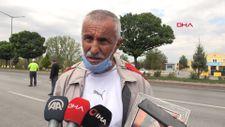 Kızı için Ankara'ya yürüyen evlat nöbetindeki baba Afyonkarahisar'a ulaştı