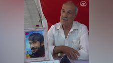 Diyarbakır'da evlat nöbetindeki baba: HDP evladımı bizden kopardı