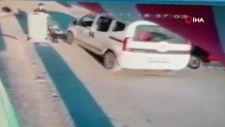 Eskişehir'de seyir halindeki sürücü bebek arabasına çarptı