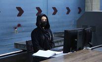 Kabil'de havalimanında çalışan kadınlar, işlerine geri döndü