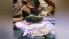 Malatya'da, yolcu otobüsündeki valizlerden 53 kilo 950 gram eroin çıktı