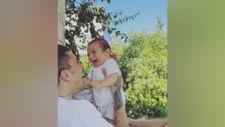 Öykü Karayel, oğlunun eğlenceli videosunu paylaştı