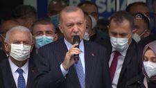 Cumhurbaşkanı Erdoğan, AK Parti Kırşehir İl Başkanlığı binasının açılışını yaptı