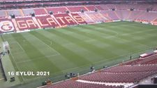 Galatasaray'ın stat zeminindeki değişim