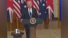 Joe Biden, Avustralya Başbakanı Morrison'ın adını unuttu