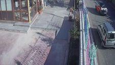 Kayseri'de yol isteyen sürücüye bilerek çarptı