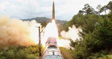 Kuzey Kore, trenden balistik füze fırlattı