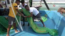 Mersinli balıkçılar 'Vira Bismillah' diyerek denize açıldı