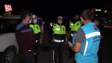 Muğla'da bir kişi polislere sitemde bulundu