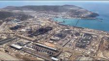 Akkuyu Nükleer güç santrali havadan görüntülendi