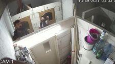 Bursa'da hırsızlar güvenlik kamerasını da çaldı