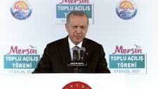 Cumhurbaşkanı Erdoğan: İlk ünite 2023 Mayıs'ta bitecek