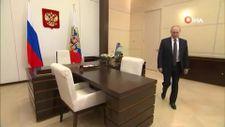 Karantinadaki Vladimir Putin, seçimlerde internet üzerinden oy kullandı