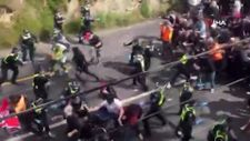 Avustralya'da karantina karşıtı gösterilerde arbede