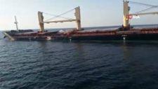 Bozcaada'da 2 gemi çarpıştı