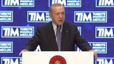 Cumhurbaşkanı Erdoğan: 12 aylık ihracatımız rekor kırdı