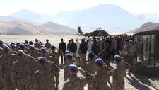 Irak'ın kuzeyinde şehit olan Uzman Çavuş Solak için Hakkari'de tören düzenlendi