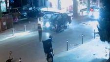 Kadıköy'de fenomen Aleyna Yaren motosikletiyle kaza yaptı