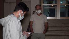 Kırıkkale'de sürücü, karantinasının bitmesine 2 saat kala yakalandı