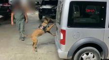 Van'da 217 kilo uyuşturucuyu hassas burun Irmak yakaladı