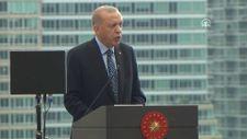 Cumhurbaşkanı Erdoğan, New York'ta Türkevi Binası'nın açılışı töreninde