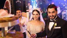 Diyarbakır'da evlenen çift, düğün pastası yerine coğrafi işaretli kadayıf kesti