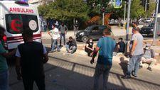 Kocaeli'de otobüs kaza yaptı
