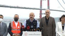 1915 Çanakkale Köprüsü'nün yıllık zaman tasarrufu 624 milyon lira olacak