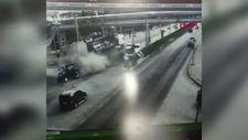 Afyonkarahisar'a freni boşalan tır 6 aracı biçti